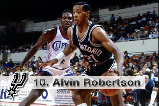 #10 Alvin Robertson
