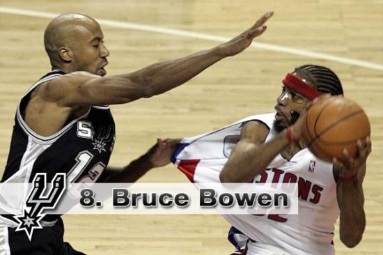 #8. Bruce Bowen