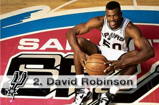#2. David Robinson