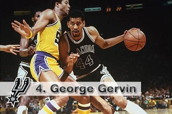 #4. George Gervin