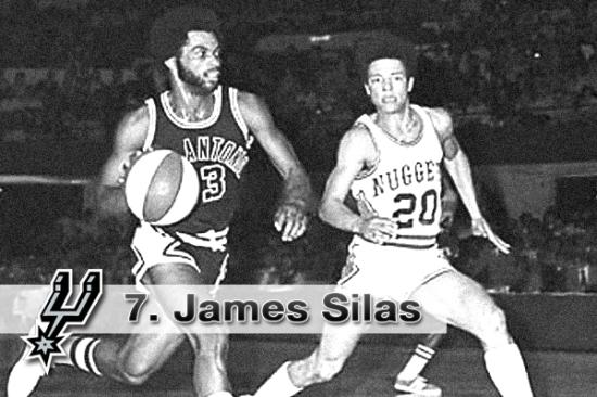 #7. James Silas