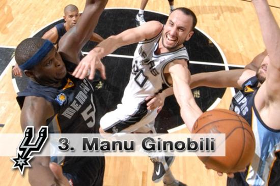 #3. Manu Ginobili