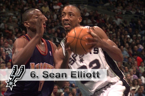 #6. Sean Elliott