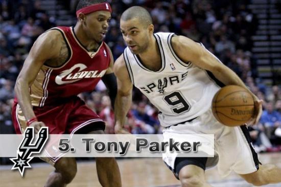 #5. Tony Parker