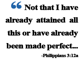 Philippians 3:12a